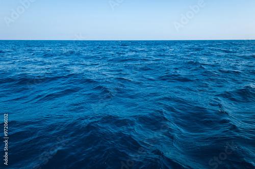 Staande foto Zee / Oceaan The vast ocean and deep