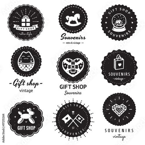 Vintage Auto Shop Logo