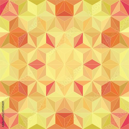 Foto op Aluminium ZigZag Abstract Mosaic Pattern