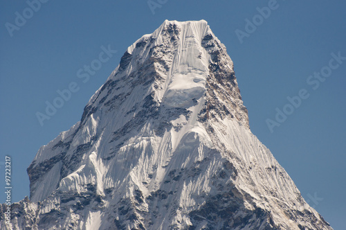 Photo  Ama Dablam Peak - Nepal