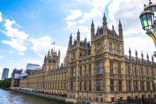 Palace Of Westminster, Houses Of Parliament. UNESCO World Heritage Site