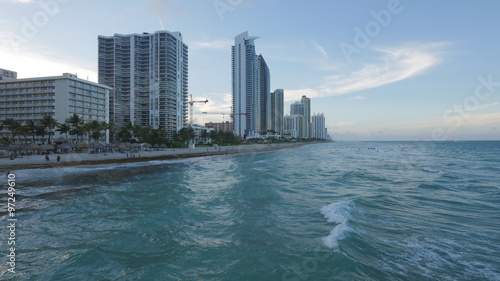 Foto op Plexiglas Chicago Beach Sunny Isles, Miami Beach