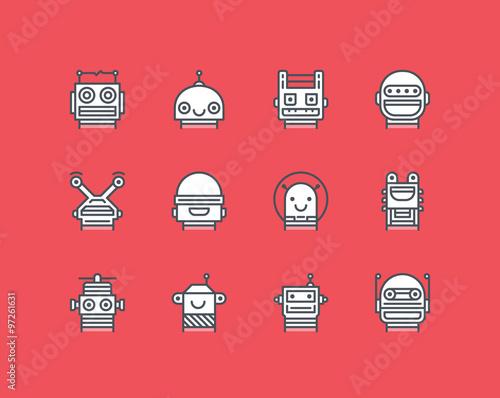 Fotografia, Obraz  Robots