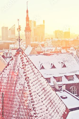 Photo  Winter Tallinn