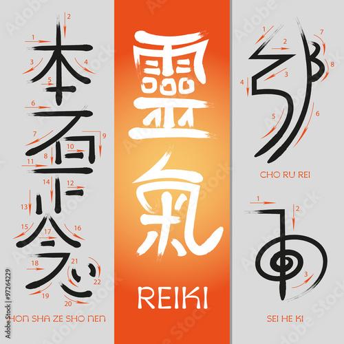 Fotografia  Reiki Symbols