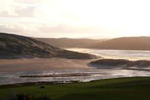 Dünenlandschaft Bei Bettyhill In Schottland