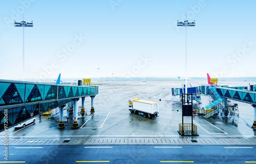 Staande foto Luchthaven Guangzhou Airport