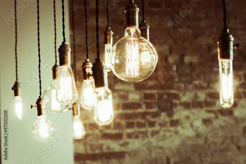 Photo  Edison Lightbulbs