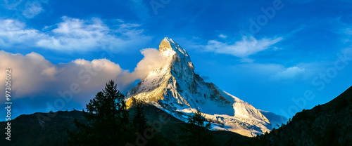 Matterhorn in Swiss Alps #97305072
