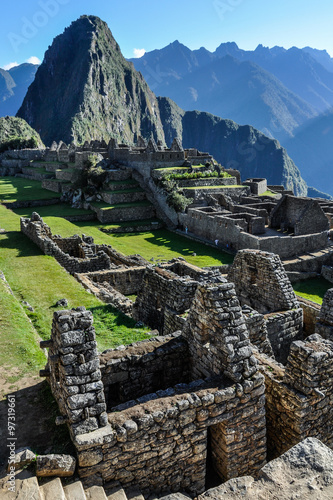 Fotografie, Obraz  The ruins of Machu Picchu, the sacred city of Incas, Peru