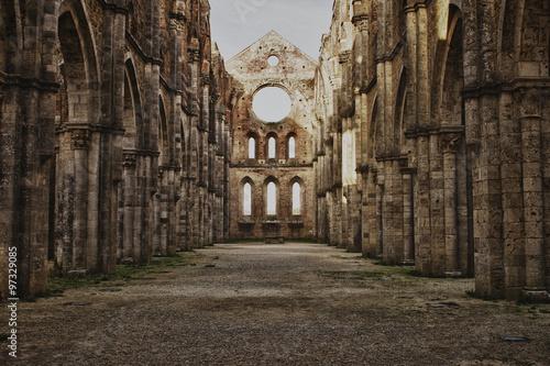 Foto  San Galgano interno 1