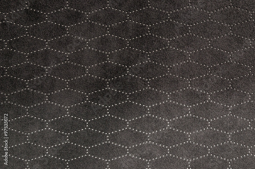 Photo Car seat leather background. Interior detail.