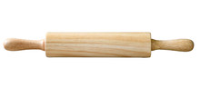 Wooden Rolling Pin, Isolated O...