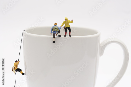 Fotografie, Obraz  Miniature peoples recreation