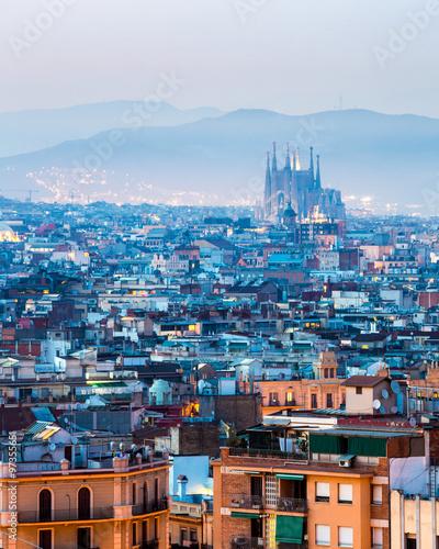 In de dag Barcelona Barcelona Spain