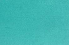 Turquoise Felt Fabric Background