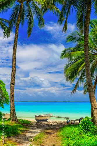 Staande foto Eiland Fanning Island, Republic of Kiribati