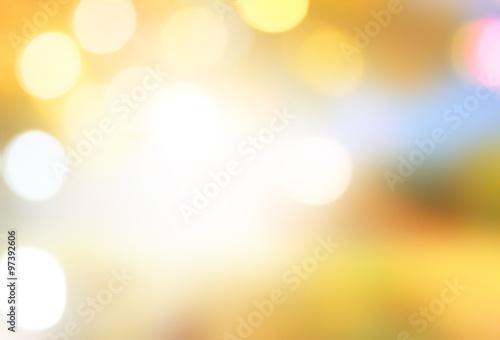 Foto op Aluminium Oranje defocused nature light effect,abstract blur background for web design