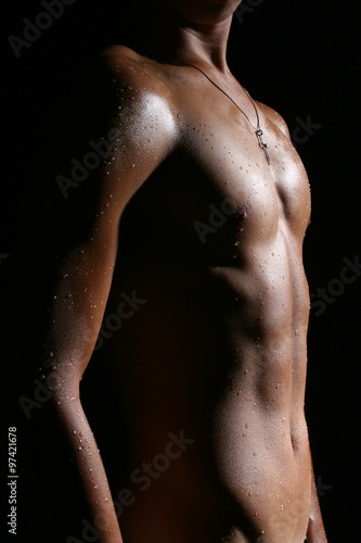 Fotografia, Obraz Nude Male Body G1