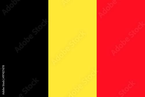 Fotografía Flag of Belgium