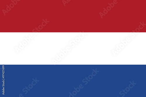 Obraz Flag of the Netherlands - fototapety do salonu