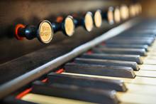 Antique Pipe Organ