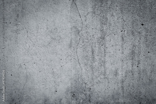 Photo sur Aluminium Beton dark grey texture
