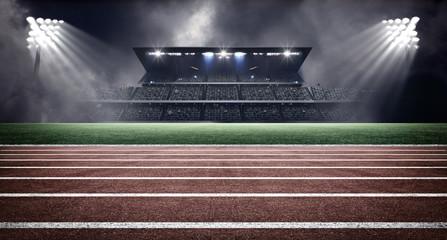 Fototapeta athletics stadium