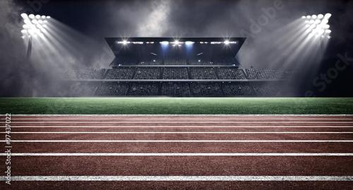 Fotografie, Obraz  athletics stadium