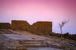 Masada fortress at sunrise