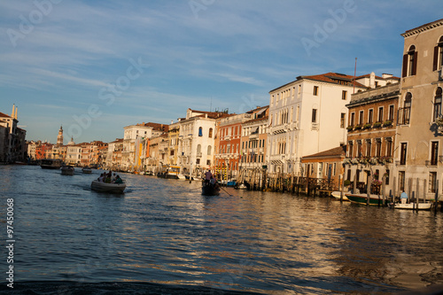 Photo  Canal Grande, Venezia, Veneto, Italia