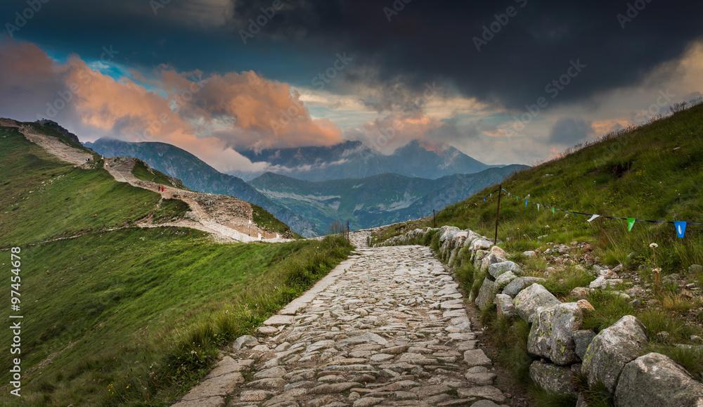 Fototapety, obrazy: Tatra mountains, Poland