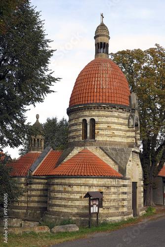 Fotografie, Obraz  Chapel of St Wenceslas in the village Vlci, Czech republic