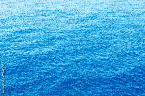 Canvas Prints Ocean Blue sea surface with waves