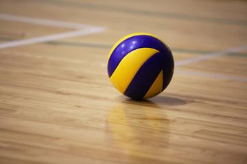 Fototapeta Volleyball ball on the floor