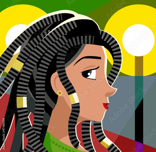 Mujer Rastafari Reggae Buy This Stock Vector And Explore Similar Extraordinary Fotos Rastafari Reggae