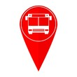 Map pointer bus