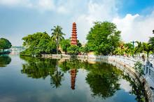 Tran Quoc Pagoda In Ha Noi Cap...