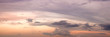 canvas print picture - Sun rise and sun set background.Panoramic image.