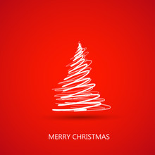 Merry Christmas Tree Card Easy...
