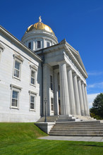 Montpelier Vermont State Capital Entrance