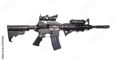 Photo  US Army M4A1 Carbine