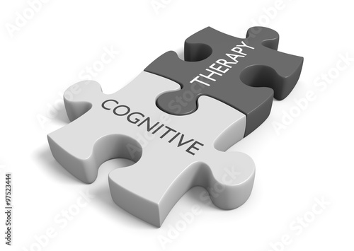 Fotografía  Cognitive therapy for dealing with thoughts, feelings, and behavior