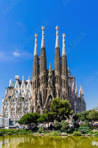 In de dag Barcelona Sagrada Familia