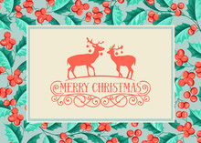 Christmas Holiday Card.