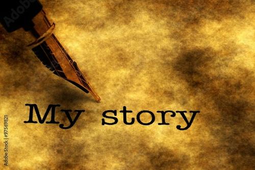 Fotografie, Obraz  My story