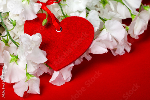 Photo  Red heart