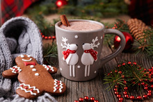 Cup Of Hot Chocolate Or Cocoa ...
