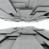 Fototapeta Perspektywa 3d - Abstract geometric background