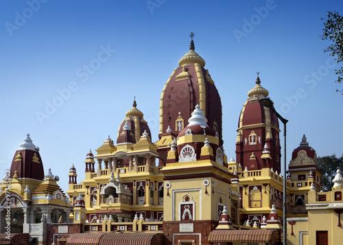 Stickers pour portes Delhi Laxmi Narayan temple, New Delhi, India..